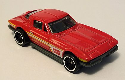 1964 Corvette Sting Ray Coupe • Hot Wheels SHOWROOM • #HW-X1819