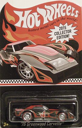 '76 Greenwood Corvette • 2015 Collector Limited Edition • #HW-CGG76