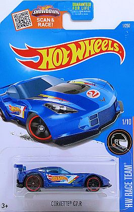 Corvette Z06 C7.R #2 • Hot Wheels 2016 • #HW-DHP37
