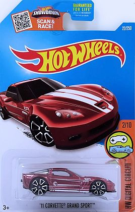 2011 Corvette Grand Sport Coupe • Treasure Hunt • HW DIGITAL CIRQUIT • #HW-DHP53-TH