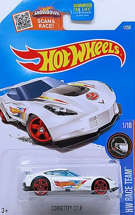 Corvette Z06 C7.R #2 • KMart special • Hot Wheels 2016 • #HW-DHY07
