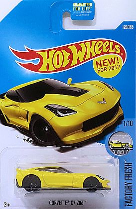 Corvette C7 Z06 Coupe • Yellow • #HW-DTW79