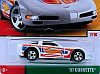 1997 C5 Corvette Coupe • Hot Wheels THROWBACK COLLECTION • #HW-FRF48