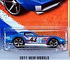 1969 COPO Corvette Hardtop • Hot Wheels 2011 NEW MODELS • #HW-T9674