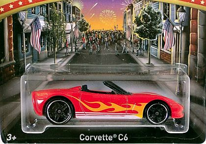 4th of July Corvette Covertible • 2014 Kroger exclusive • #HW-BDL66