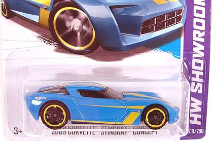 2009 Corvette STINGRAY • Concept • Hot Wheels KM exclusive • HW#X1977
