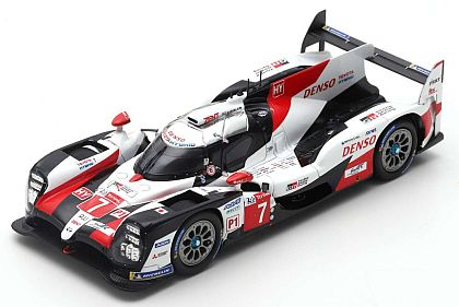 Toyota TS050 Hybrid #7 LMP1 • 2nd Overall Le Mans 2019 • #87S149 • www.corvette-plus.ch