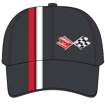C3 Racing Stripe Corvette Hat • #008c3