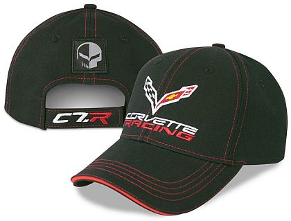 Corvette Racing Cap with Jake Patch • Black • #C181c7rj