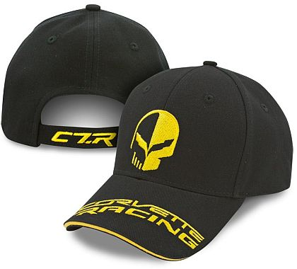Jake Racing Cap • Black/Yellow • #C184c7rj