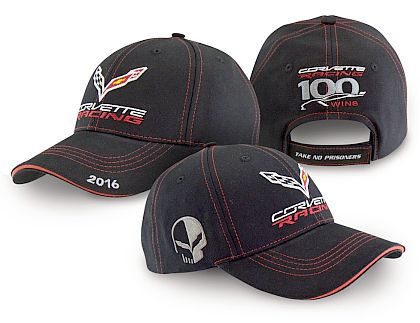 Corvette Racing 100 Wins Cap • Black/Red • #C417c7rj