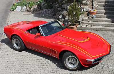 Chevrolet Corvette Big Block Cabriolet 1968