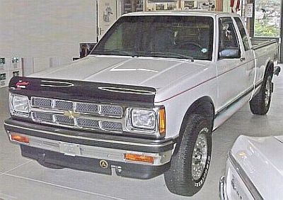 1993 Chevy S10 Pickup Tahoe Maxi-Cab 4x4