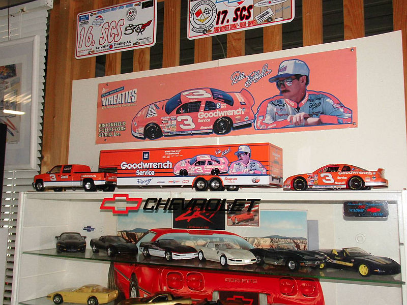 Dale Earnhart Display