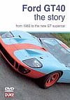 FORDT GT40 History - 1963 to 2005 GT, Item #DVD143709