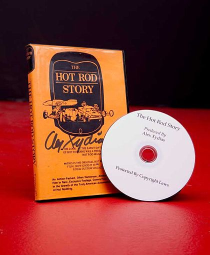 THE HOT ROD STORY • Told And Filmed by ALEX XYDIAS • #DVD110