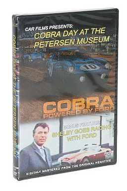 Cobra Day At Petersen Museum • Shelby Goes Racing With Ford • #DVDCobraDay