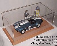 Display case for 1/12 scale Model Cars • #DP12001