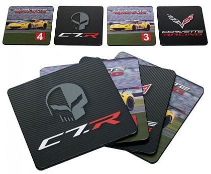 Corvette Racing 4 Piece Coaster Set • #CC351