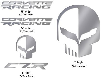 Corvette Racing/Jake Decal Pack • Silver • #D204SIL