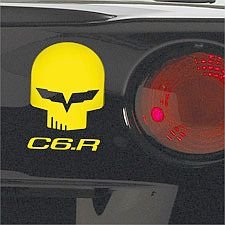 JAKE & C6.R Reflective Decal Pack • Yellow