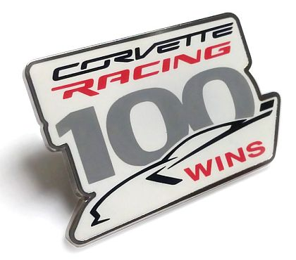 Corvette Racing 100th Win • Lapel / Hat Pin • #PXT419