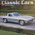 2019 Classic Car Calendar with images of various classic cars