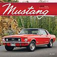 Mustang 2019 12x12 Inch Monthly Square Wall Calendar with Foil Stamped Cover by Plato, Ford Motor Muscle Car