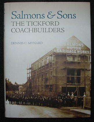 Salmons & Sons, The Tickford Coachbuilders • Aston Martin book • #BK703090