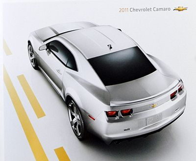 Chevrolet 2011 Camaro • Dealer sales brochure • #C2011SB