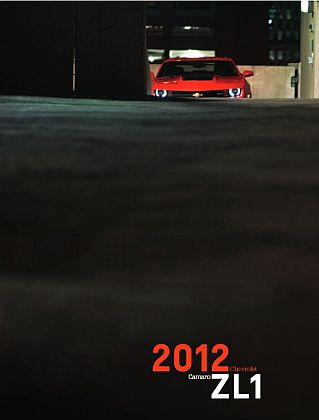 Chevrolet 2012 Camaro ZL1 • Dealer sales brochure • #C2012ZL1SB