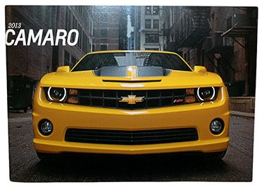 Chevrolet 2013 Camaro • Dealer sales brochure • #C2013SB