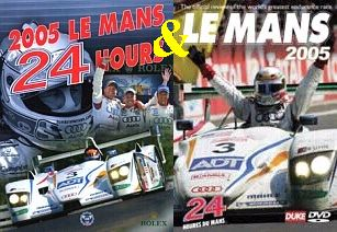 2005 Le Mans 24hrs. race yearbook / DVD