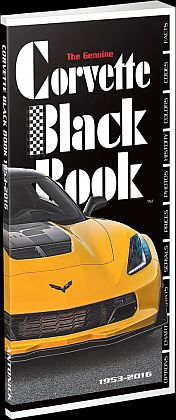Corvette Black Book 1953-2016 • By Mike Antonick • #BK195316