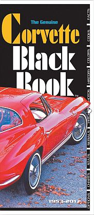 Corvette Black Book 1953-2017 • By Mike Antonick • #BK195317