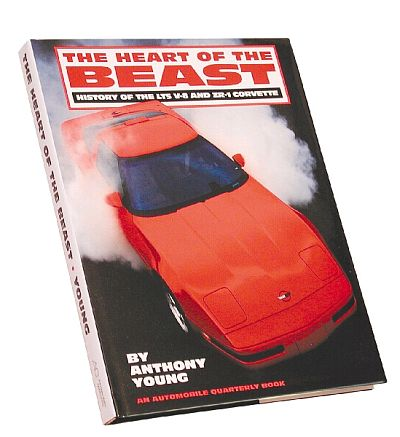 HEART OF THE BEAST, Dedicated to ZR-1 Corvette and LT5 Engine - Item #C4BK121018