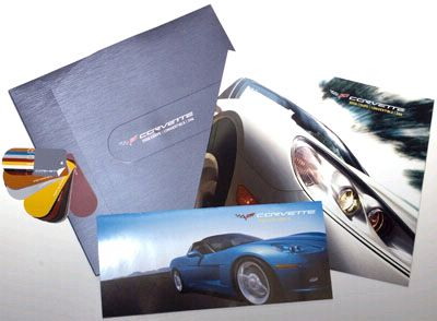 2008 Corvette Sales brochure, item # 2008SB