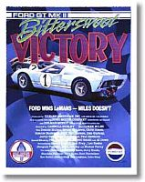 Ford GT40 Le Mans - Poster - Item #LM-GT40II