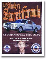 Shelby G.T.350 - Poster - Item #HiPo350
