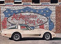 All-American Flag Company, 1982 Collector Corvette, Item #DF25027