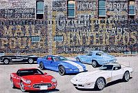 Colorado Five, Five Generations of Corvette, Item #DF25024