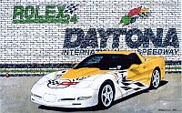 Daytona Pace Car, 2000 Corvette Coupe, Item #DF25049