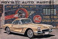 Fire Ring Fawn, 1962 Corvette Convertible, Item #DF25031