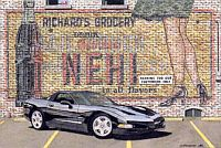 The Generation Gap, 1998 Corvette Coupe, Item #DF25015