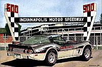 INDY in '78, 1978 Corvette Pace Car, Item #DF25043