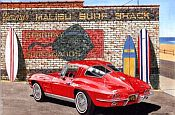Like A Song On The Radio, 1963 Corvette Coupe, Item #DF25020