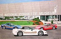 The Milestone Trio, Corvette Convertible, Coupe, Hardtop, Item #DF25022