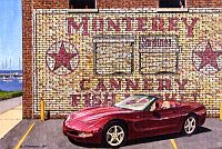 Monterey Roadster, 50th Anniversary Corvette, Item #DF25025