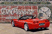 One Red Hot Pepper, C5 Corvette, Item #DF25042