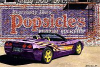 The Popsicle, 1998 Corvette Pace Car, Item #DF25044